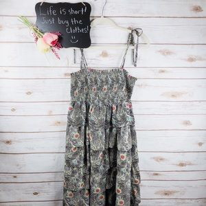 Liberty of London Target floral layered dress